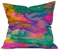 Indy Outlet Center: DENY Designs Amy Sia Ardour Throw Pillow, 26-Inch by 26-Inch