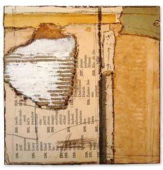 Crystal Neubauer Collage Mixed Media Altered Fine Art