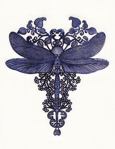 Frissonnante Libellule : « La frissonnante libellule Mire les globes de ses yeux Dans l'étang splendide où pullule Tout un monde mystérieux. » Les Rayons et les Ombres (1840) Victor Hugo