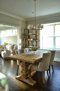 Ledelle Dining Table  Pat Dream Furniture  Pinterest  Dream Magnificent Restoration Hardware Dining Room Sets Design Ideas