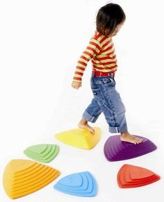 River stone set for indoor play. Via A Mighty Girl's empowering toys guide.