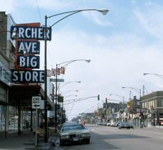 Archer Ave. Big Store / 4181-93 Archer Ave. Chicago IL.