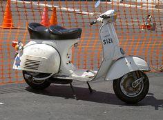 My 1974 Vespa Sprint Veloce SFPD bike | Tom Donohue | Flickr