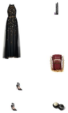 """""""Grace"""" by zoechengrace on Polyvore featuring Monique Lhuillier, Burberry, Valentino and River Island"""