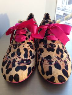 These Irregular Choice Leopard Oxfords are going fast … Grab your pair  today! - http e8a44e3469