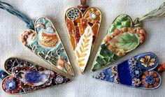 Mosaic Jewelry Pendants  © www.studiofresca.com