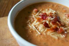 365 Days of Baking and More: Creamy Tomato Basil Soup