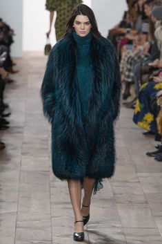 Michael Kors Collection Fall 2015 Ready-to-Wear Fashion Show - Natasha Poly