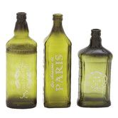 Found it at Wayfair - Beautiful Styled 3 Piece Glass Décor Vase Set