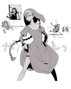 Black and white guard Angel Of Death, V Cute, Estilo Anime, Cute Gay Couples, Identity Art, Fun Comics, Kawaii Cute, Character Design Inspiration, Funny Cartoons