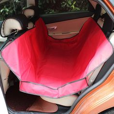 CocoPet Pet Seat Cover for Car Seats Waterproof and Washable Hammock Style Cover Protects Car Back Seats from Dog Fur, Mud, Scratches ** Click image to review more details.