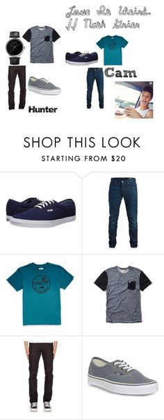 """""""Meeting Cam Outfits"""" by aaliyah-brandell-sweden ❤ liked on Polyvore featuring Vans, SELECTED, Hollister Co., Naked & Famous and Georg Jensen"""