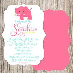 Elephant Invitation