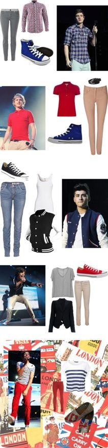 One Direction inspired Outfits by haleyyyp on Polyvore