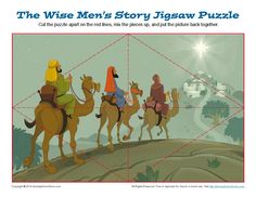 The Wise Men's Christmas Adventure Jigsaw Puzzle