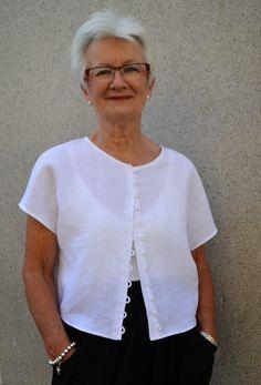 Sew Tessuti Blog - Sewing Tips & Tutorials - New Fabrics, Pattern Reviews: Introducing the Judy Top Pattern