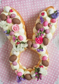 Easter Bunny Cream Tart - Love Swah