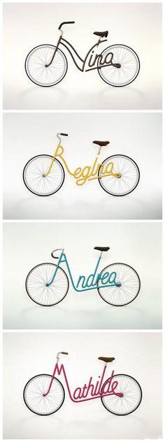 4 unique signature bikes