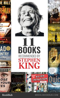 Stephen King recommends these 11 books, including The Cuckoo's Calling by Robert Galbraith.