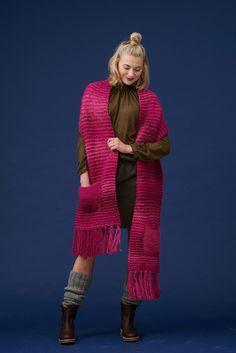 Novita shawl patterns, Shawl made with Novita Joki (River) yarn #novitaknits #knitting #knit https://www.novitaknits.com/en