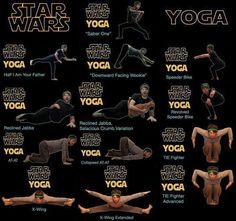 Star Wars Yoga.