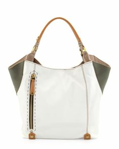 Aquarius Leather Shopper Bag, Multi by Oryany at Neiman Marcus.
