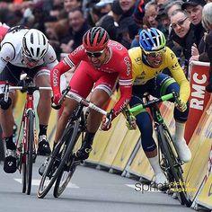 Nacer Bouhanni and Michael Matthews Paris Nice stage 2 BettiniPhoto