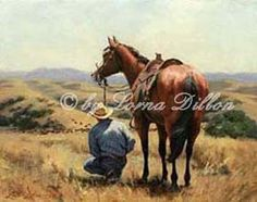 Western art - cowboys, horses, cattle ranches, vaqueros, and the ...