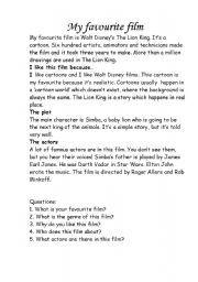 English worksheet: film genres for elementary students | Film ...