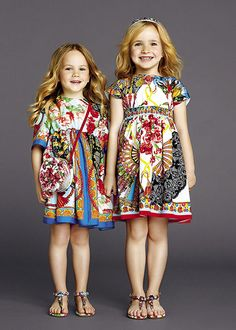 dolce and gabbana summer 2015 child collection 15