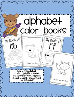 ABC Color Books - 31 Emergent Readers $10.00