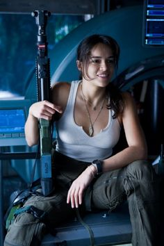 Michelle Rodriguez, my favourite tough girl from Avatar and Fast & Furious Born: July 12, 1978