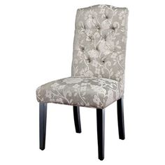 I pinned this Crown Top Floral Dining Chair - Set of 2 from the Soft Spot event at Joss and Main!