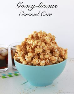 Gooey-licious Caramel Corn - Whats Cooking With Ruthie