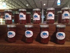 BOTTLED SAUCES! The Dirty Buffalo has all 8  of their signature sauces bottled up.  #golocalthursday 8/8/13