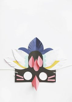 Ta.Ta. Unconventional Design For Kids: PAPER MASKS