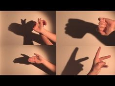 ▶ How To Make Shadow Puppets With Your Hand - YouTube