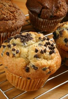 Banana Chocolate Chip Muffins! This is how I use up my bananas before they spoil. This is always a hit and easy to make.