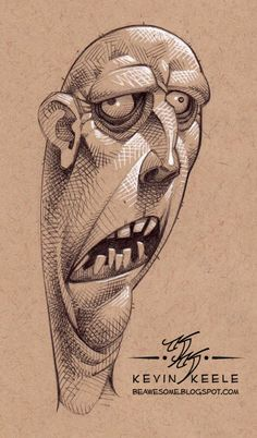 Be Awesome: Sketchbook April '14