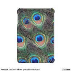 Peacock Feathers Photo iPad Mini Cover