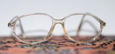 Vintage Patterned Womens Oval Eyeglasses by funkyou on Etsy, $20.00