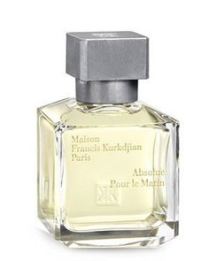 Maison Francis Kurkdjian Absolue pour le Matin Eau de Parfum. Product Description Size:2.4oz ; Notes: Calabrian bergamot, Sicilian lemon, Moroccan white thyme, lavender, Tunisian neroli, woody iris accord, dry amber accord, violet accord.