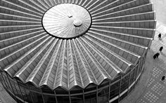 The roof of the Rotunda building