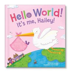 Hello World Personalized Book - Pink - I See Me!