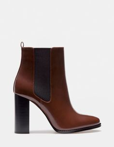 The most modern style in women's collection for Spring Summer 2018 at Stradivarius. The latest trends in clothes, accessories and shoes. Chelsea Ankle Boots, My Wallet, Spring Summer 2018, Winter Looks, Style Me, Latest Trends, High Heels, Footwear, How To Wear