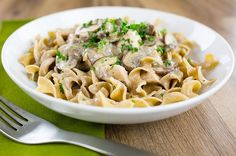Recipe: 30-Minute Chicken Stroganoff