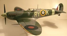 Model - Spitfire Mk.VB RY-K (AB276) Fighter Jets, Aircraft, British, Vehicles, Model, Aviation, Scale Model, Car