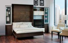 lit design ikea, lit d'appoint pliant, lit pliant dans la chambre à coucher