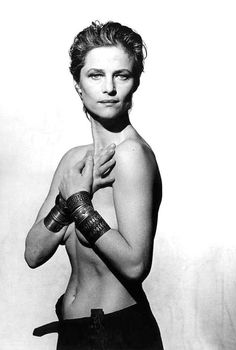 Charlotte Rampling - Quite a different look from Dexter.  I forgot how beautiful she was.