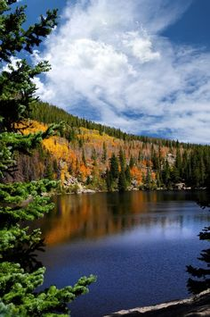 Bear Lake in Rocky Mountain National Park. Our favorite hike, hands down.